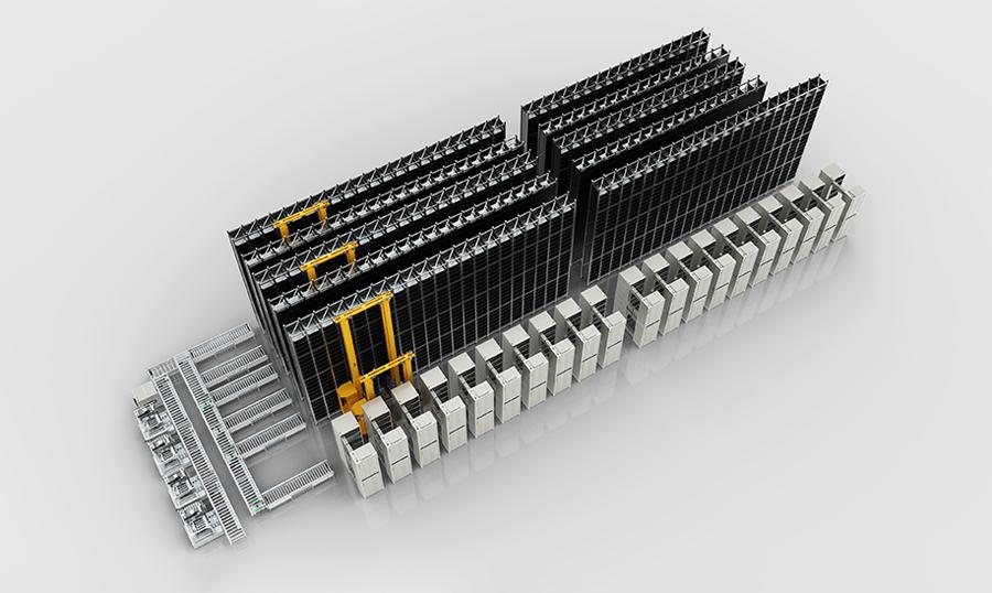 圆柱电池化成与分容方案