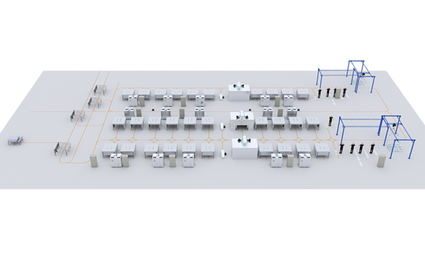 模组与PACK自动化生产线方案